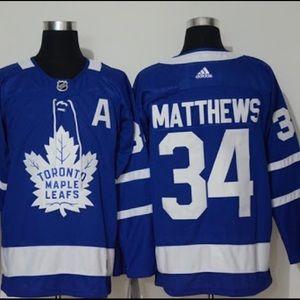 Auston Matthews Toronto Maple Leafs Jersey Size 52